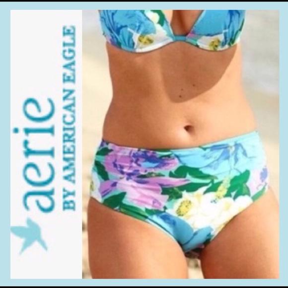 dc9b7b0593 aerie Swim | Bnwt High Waisted Bikini Bottoms | Poshmark